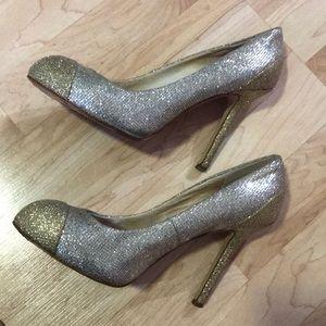 Gold & silver metallic MICHAEL Michael Kora heels